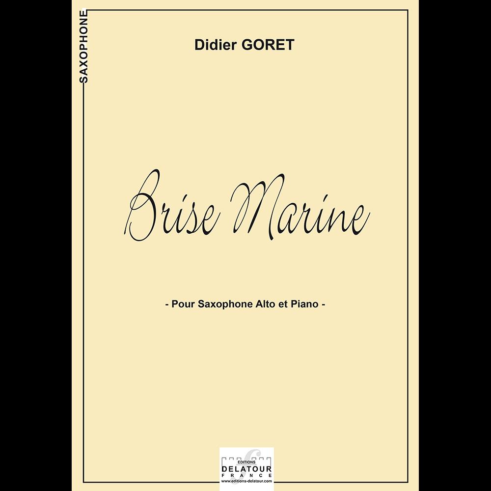 Brise marine for alto saxophone and piano
