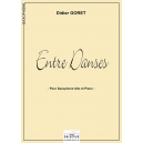 Entre danses for alto saxophone and piano