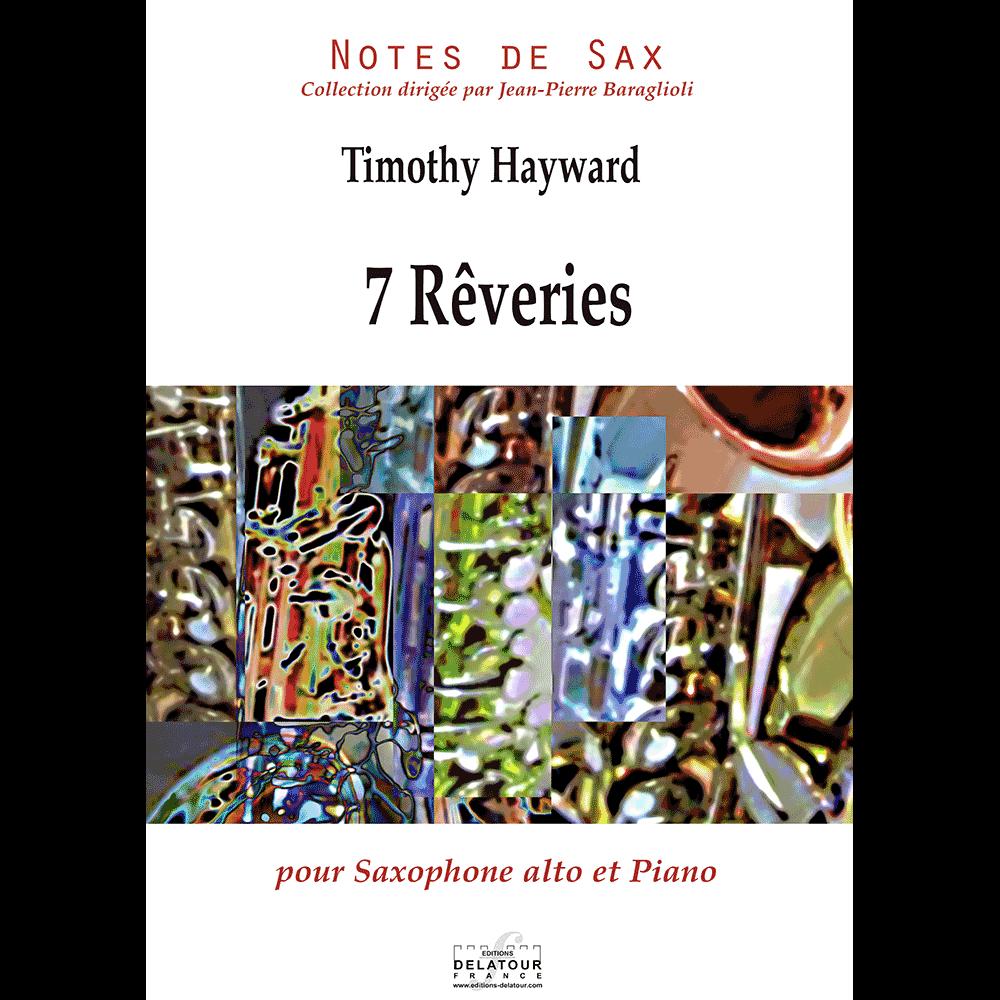 7 rêveries für Altsaxophon und Klavier