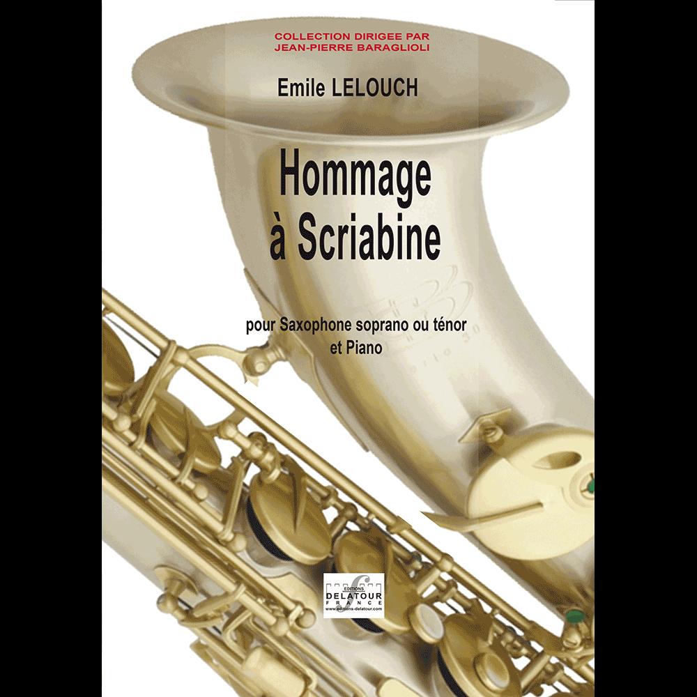 Hommage à Scriabine for alto saxophone and piano