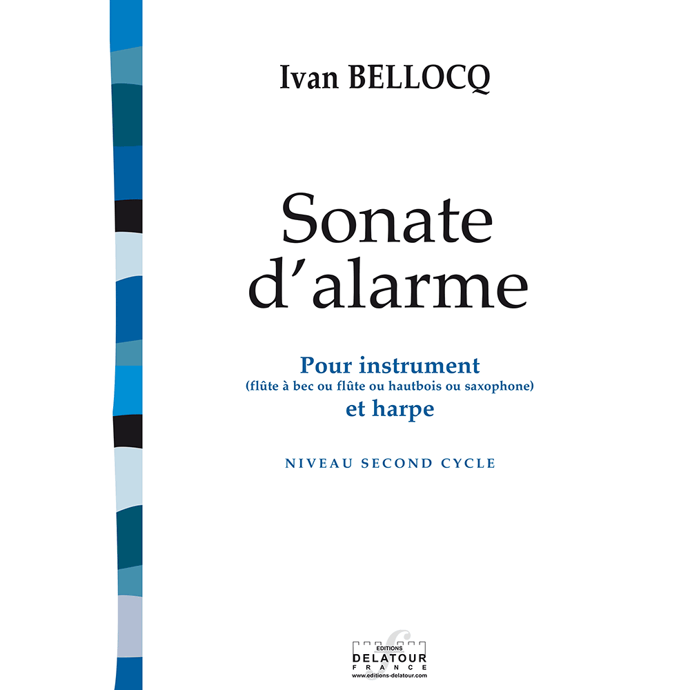 Sonate d'alarme (with harp)