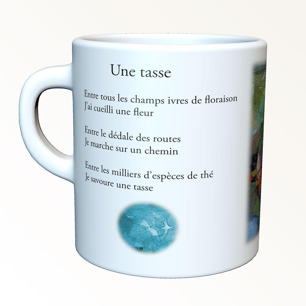 Tasses-poèmes - Une tasse