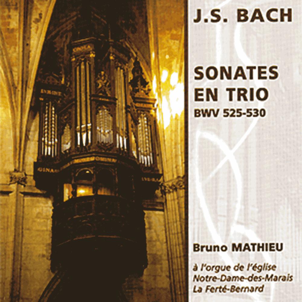 6 Trio Sonatas BWV 525-530 for organ - Bruno Mathieu