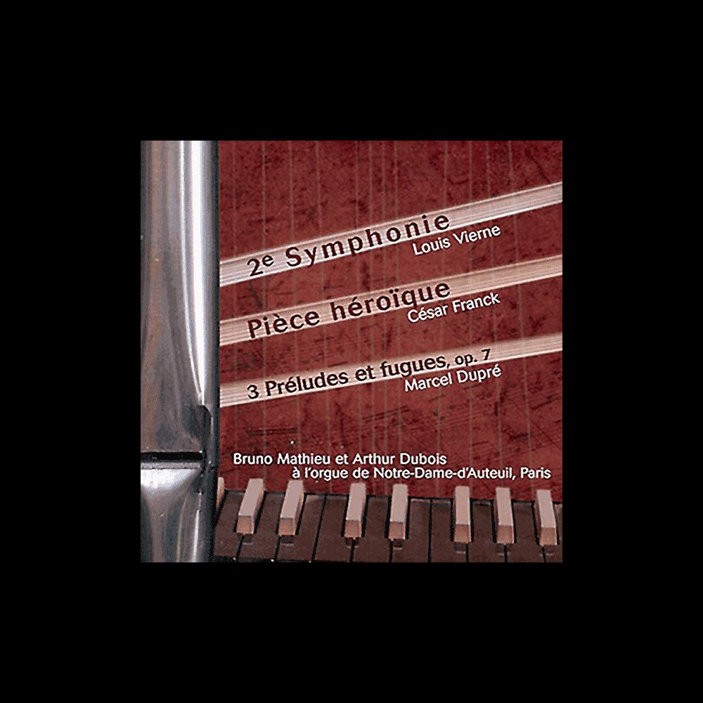 3 preludes and fugues, Heroïc piece