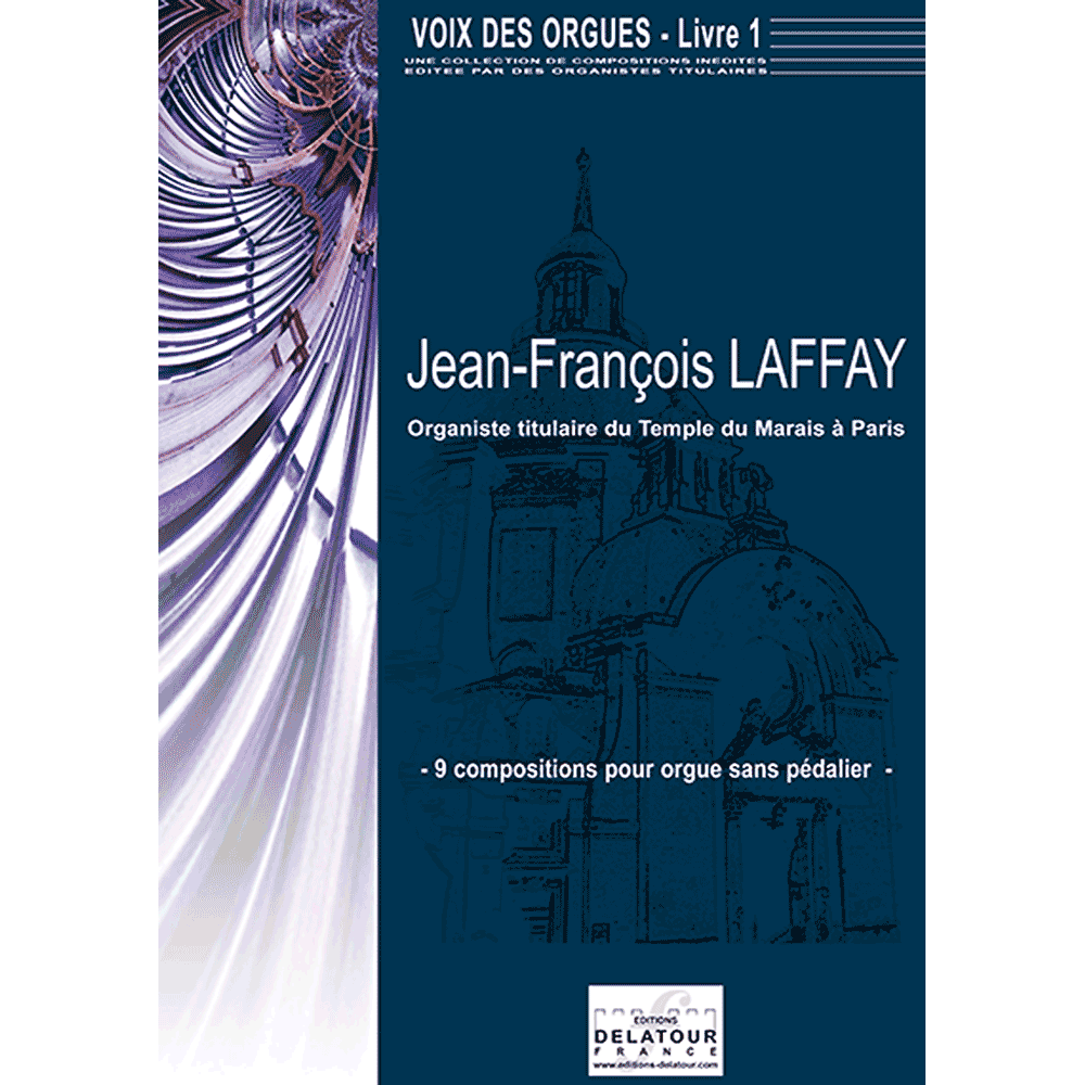 Voix des orgues for organ without pedal - Book 1