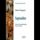 Septembre - Nacht Symphony für Orchester (FULL SCORE)