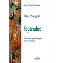 Septembre - Nacht Symphony für Orchester (Separate Teile)