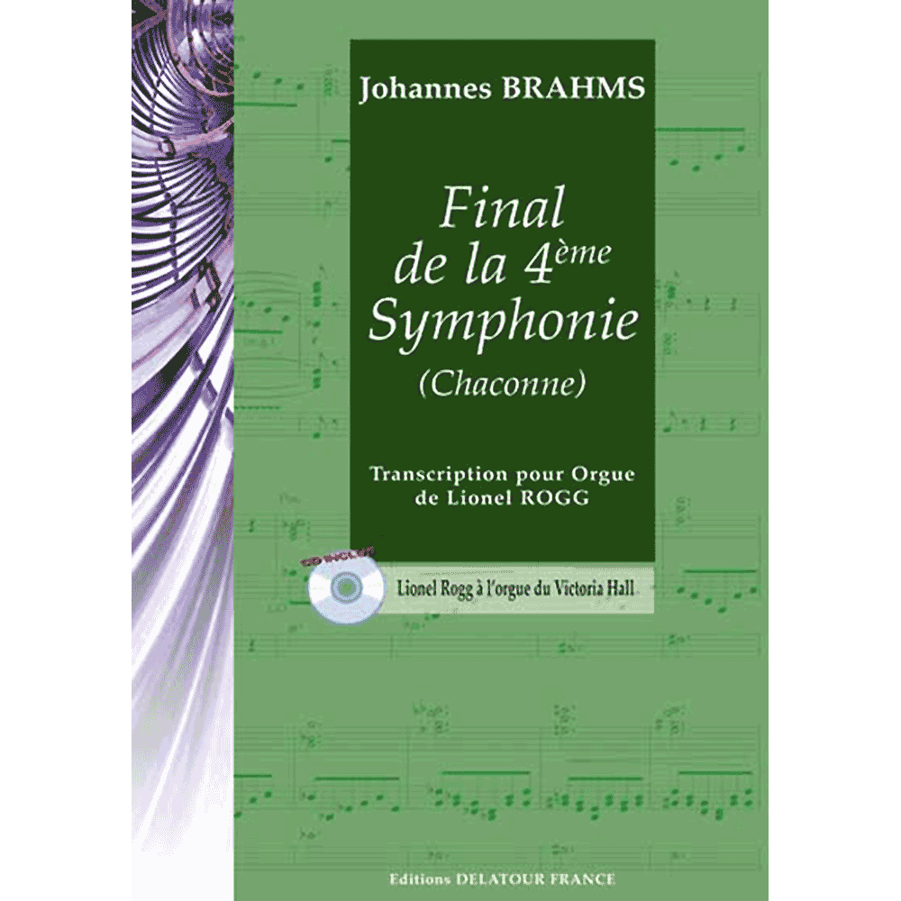 Final from the 4th Symphony (Chaconne) for organ