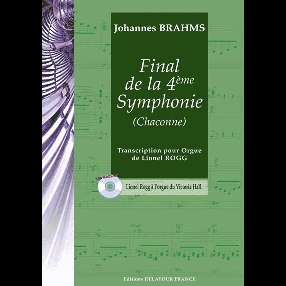 Finale der 4. Sinfonie (Chaconne) für Orgel
