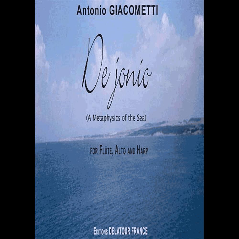 De jonio for flute, viola and harp