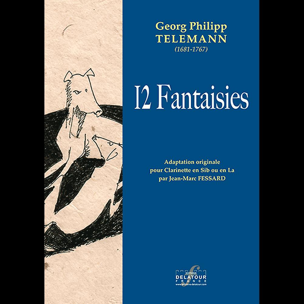 12 Fantasien für Klarinette