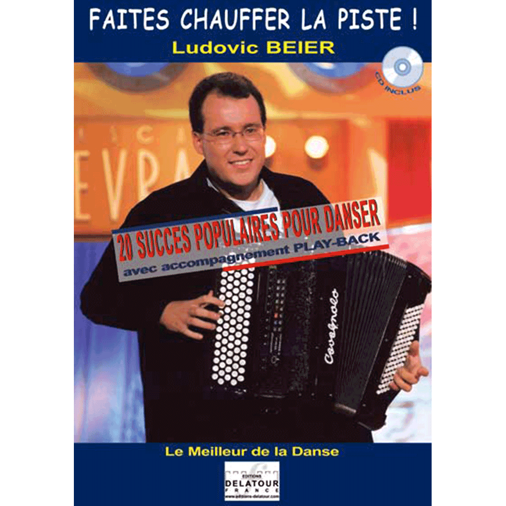 Faites chauffer la piste ! - Vol. 1 for accordion