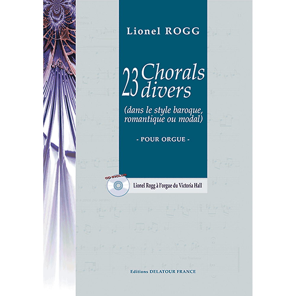 23 varied Chorales for organ
