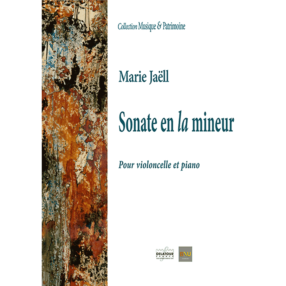 Sonate in a minor for cello and piano