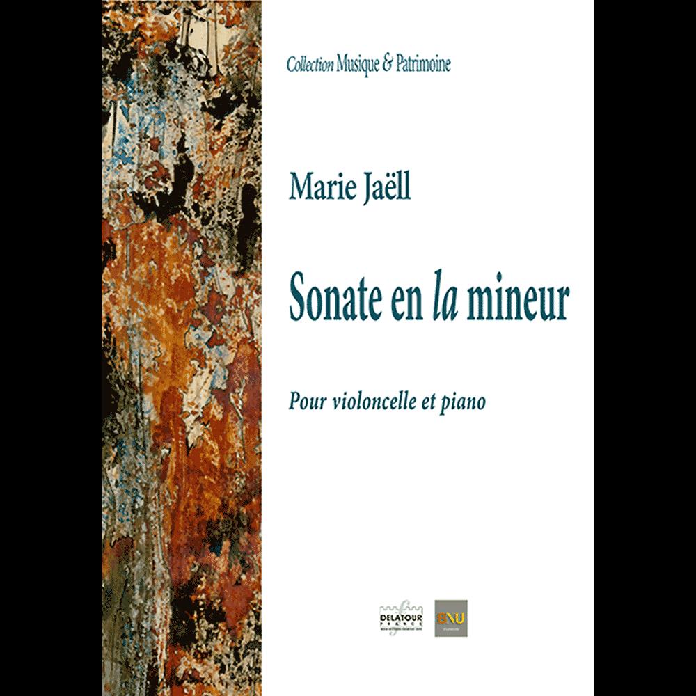 Sonate in A-moll für Violoncello und Klavier