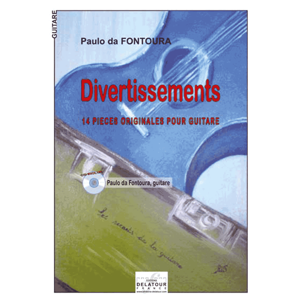 Divertissements for guitar