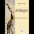 Archèlogos II für Bassflöte und Tonaufnahmen