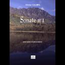 Sonate N°1 (Klavier und Perkussion Version)