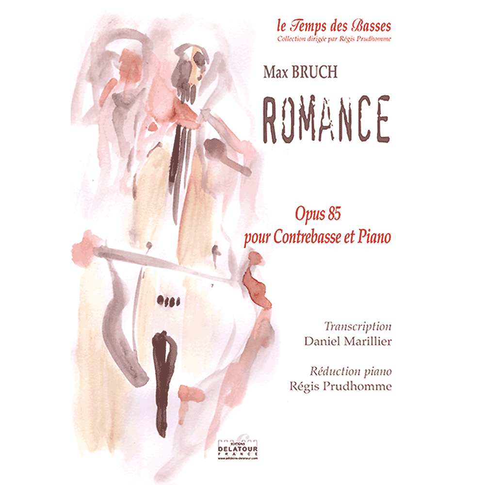 Romance opus 85 for double bass and piano