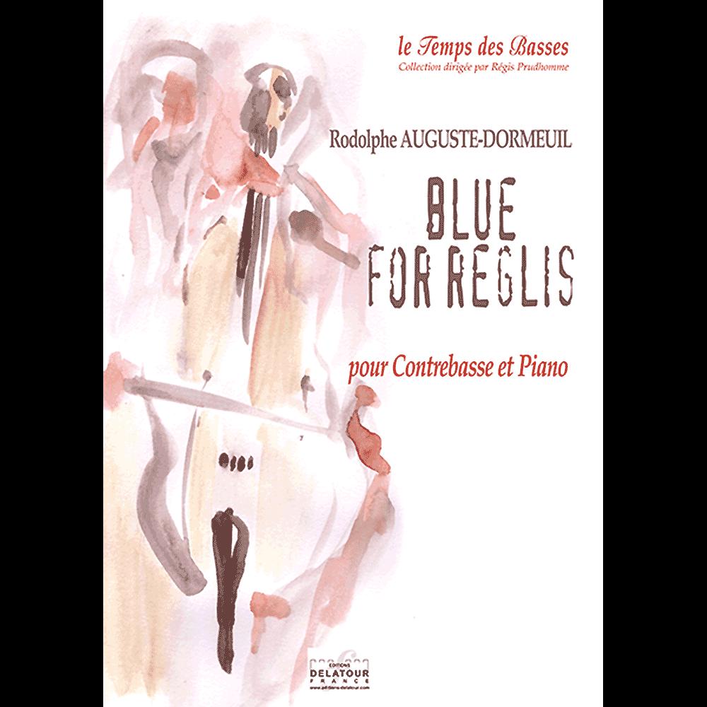 Blue for Reglis für Kontrabass und Klavier