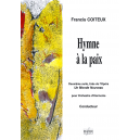 Hymne à la paix (Conducteur)