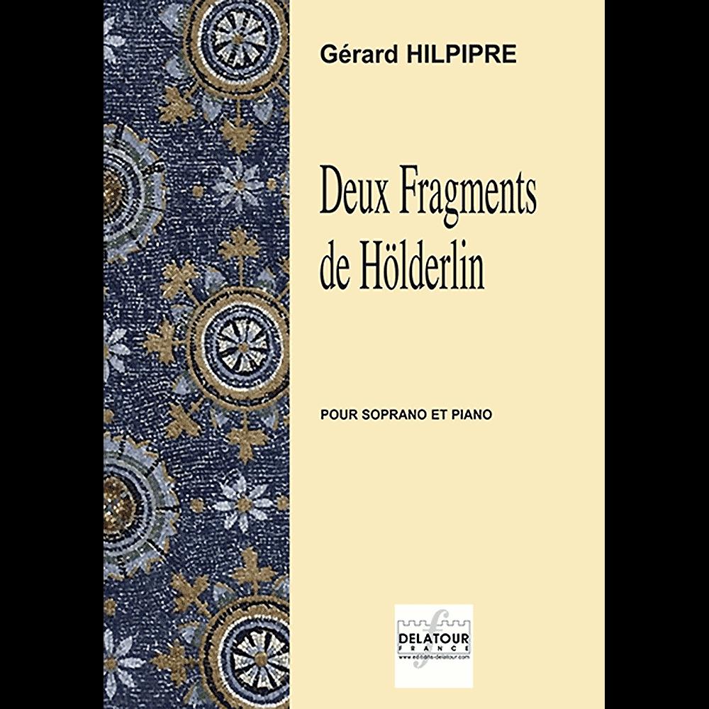 Deux Fragments de Hölderlin for soprano and piano