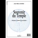 Souvenir du temple for guitar solo