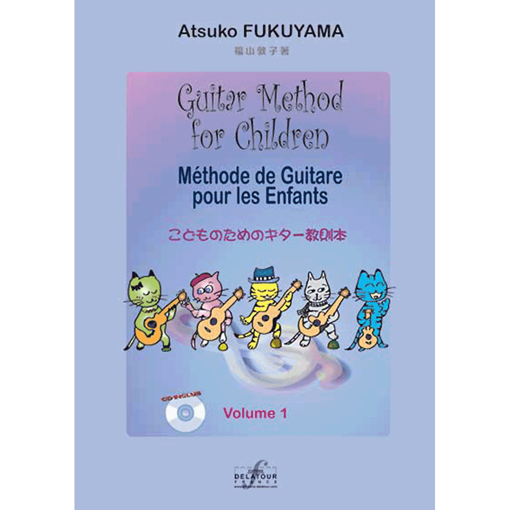 Guitar method for children - Vol. 1