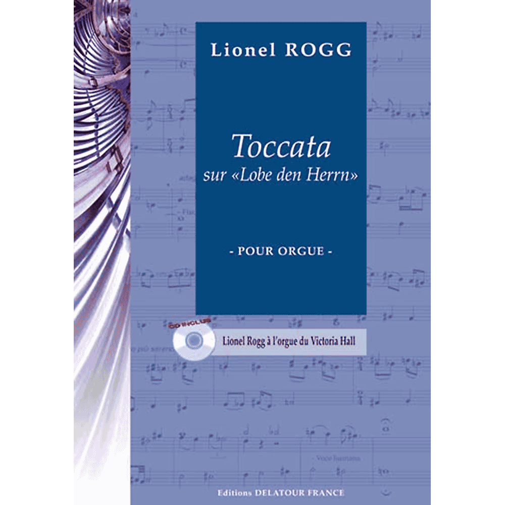 Toccata on Lobe den Herrn for organ