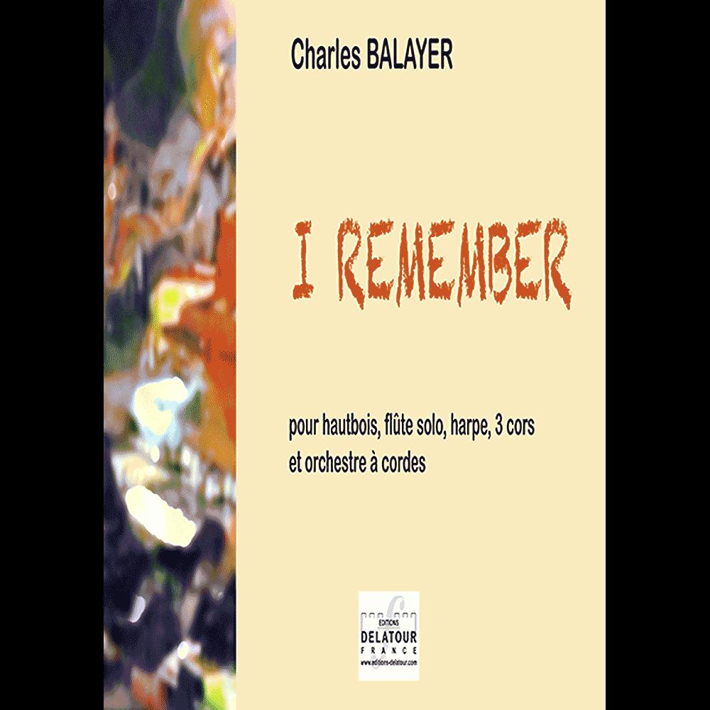 Oboe, Flöte, Harfe, 3 Hörner und Streichorchester