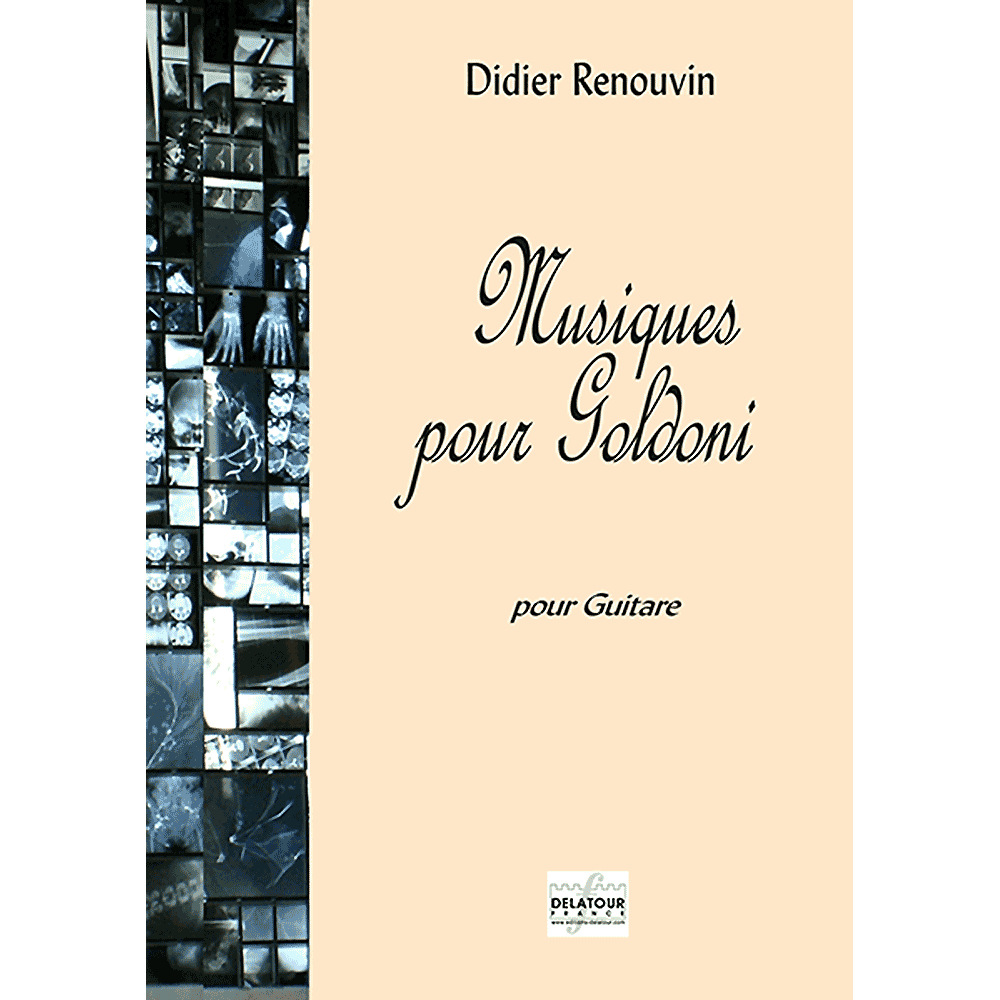 Musiques pour Goldoni for guitar