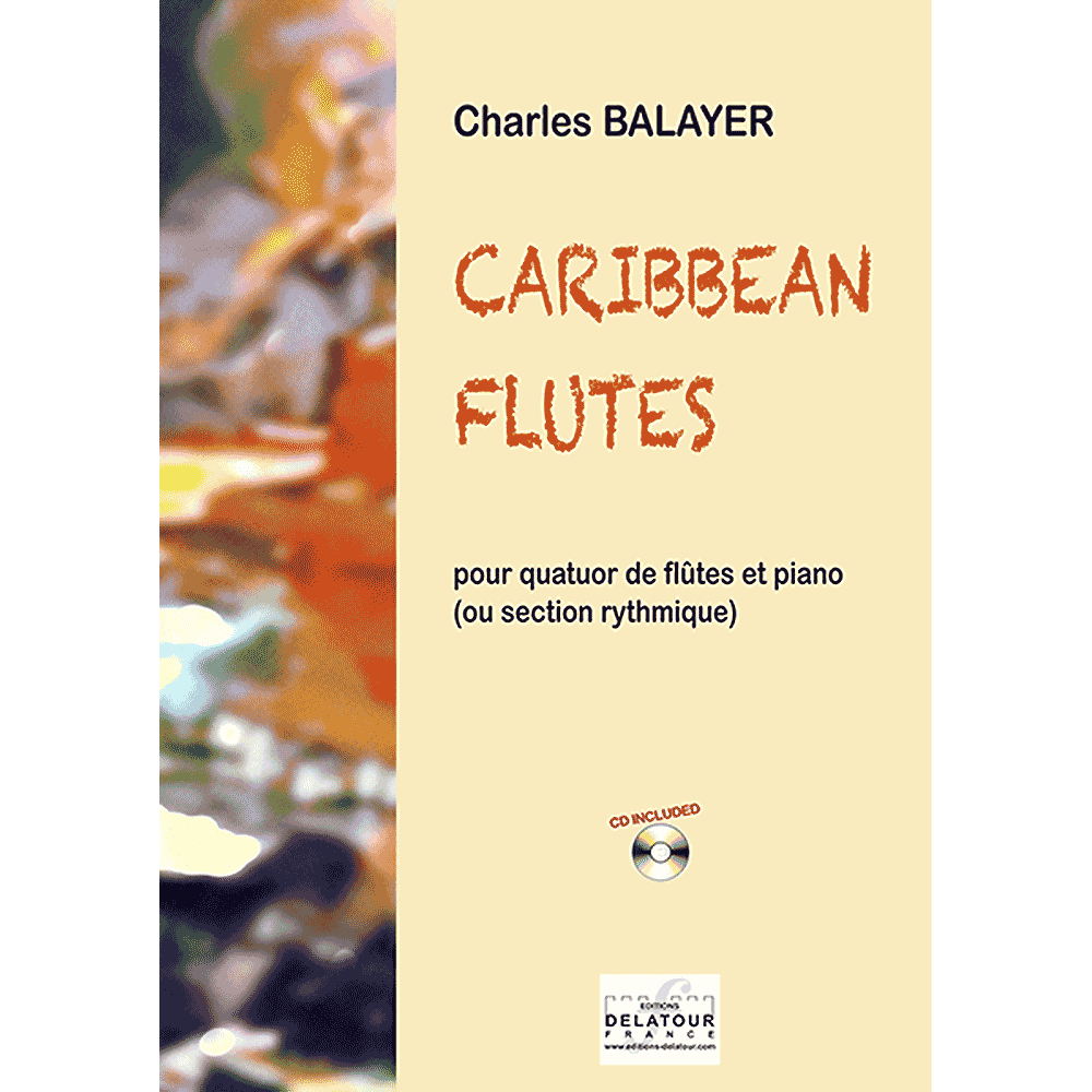 Caribbean flûtes for flute quartet and piano