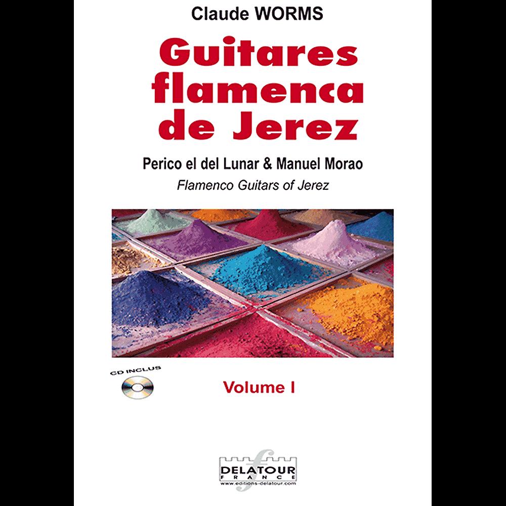 Guitares flamencas de Jerez - Band 1 für Flamenco Gitarre