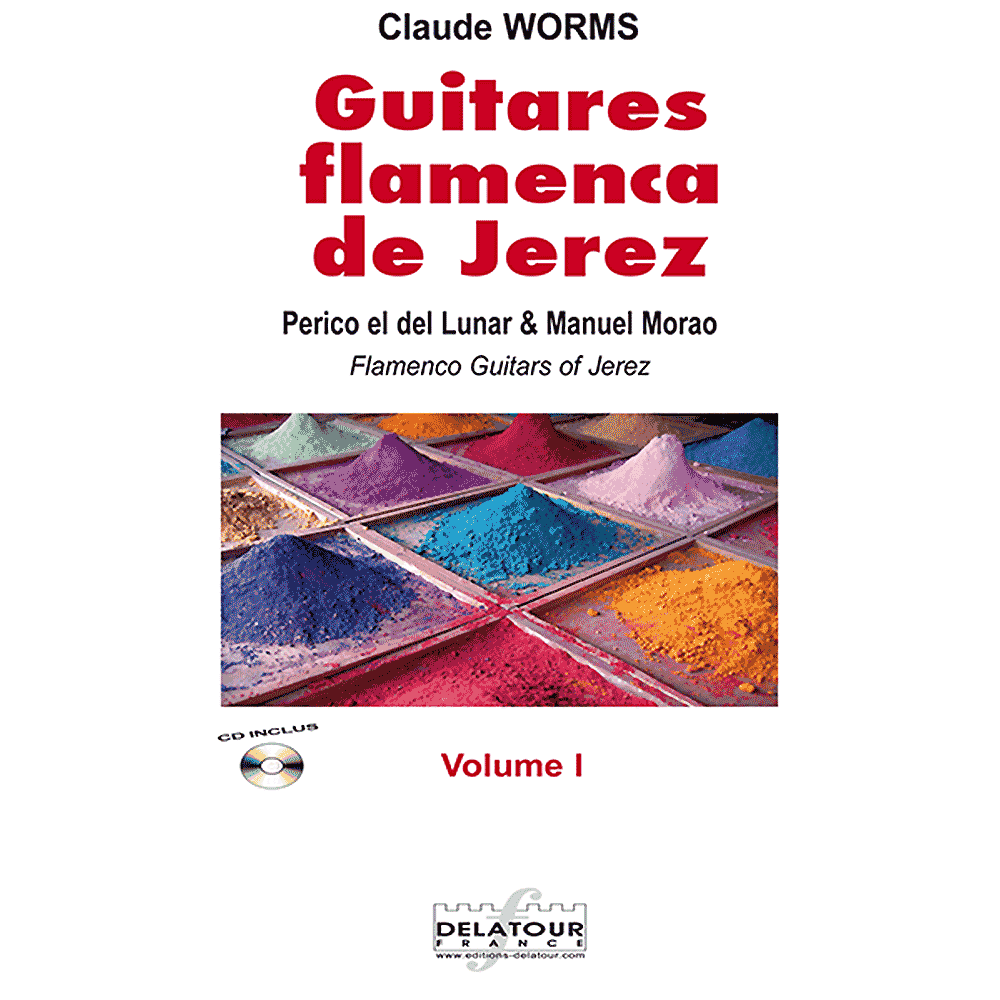 Guitares flamencas de Jerez - Vol. 1 for flamenco guitar
