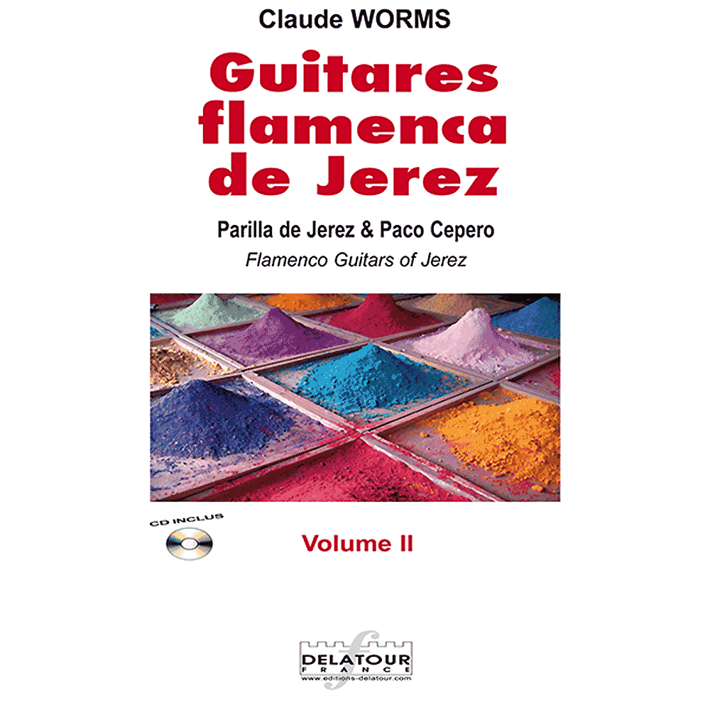 Guitares flamencas de Jerez - Vol. 2 for flamenco guitar