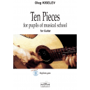 Ten pieces for pupils of musical school pour guitare