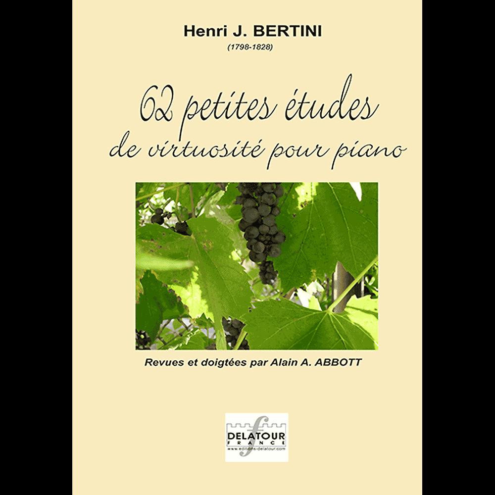 62 kleine virtuose Studien für Klavier