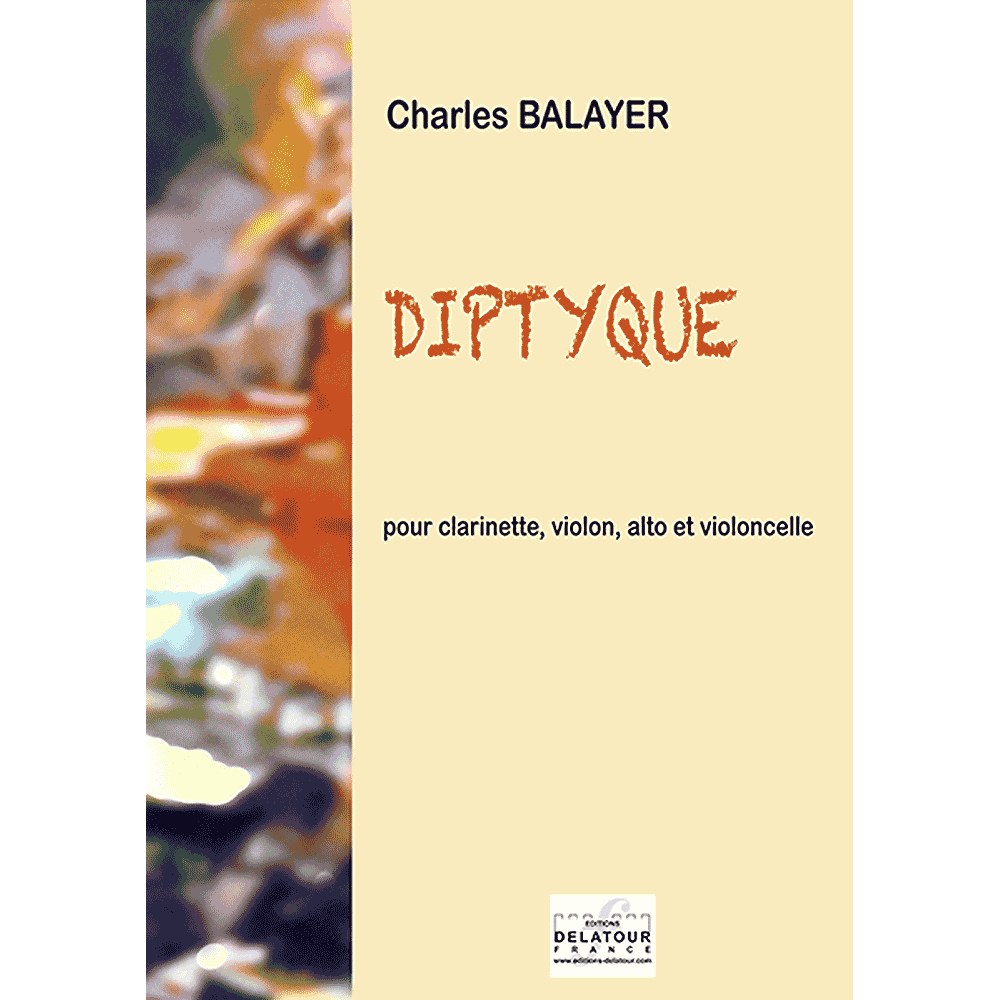 Diptyque for clarinet, violin, viola and cello