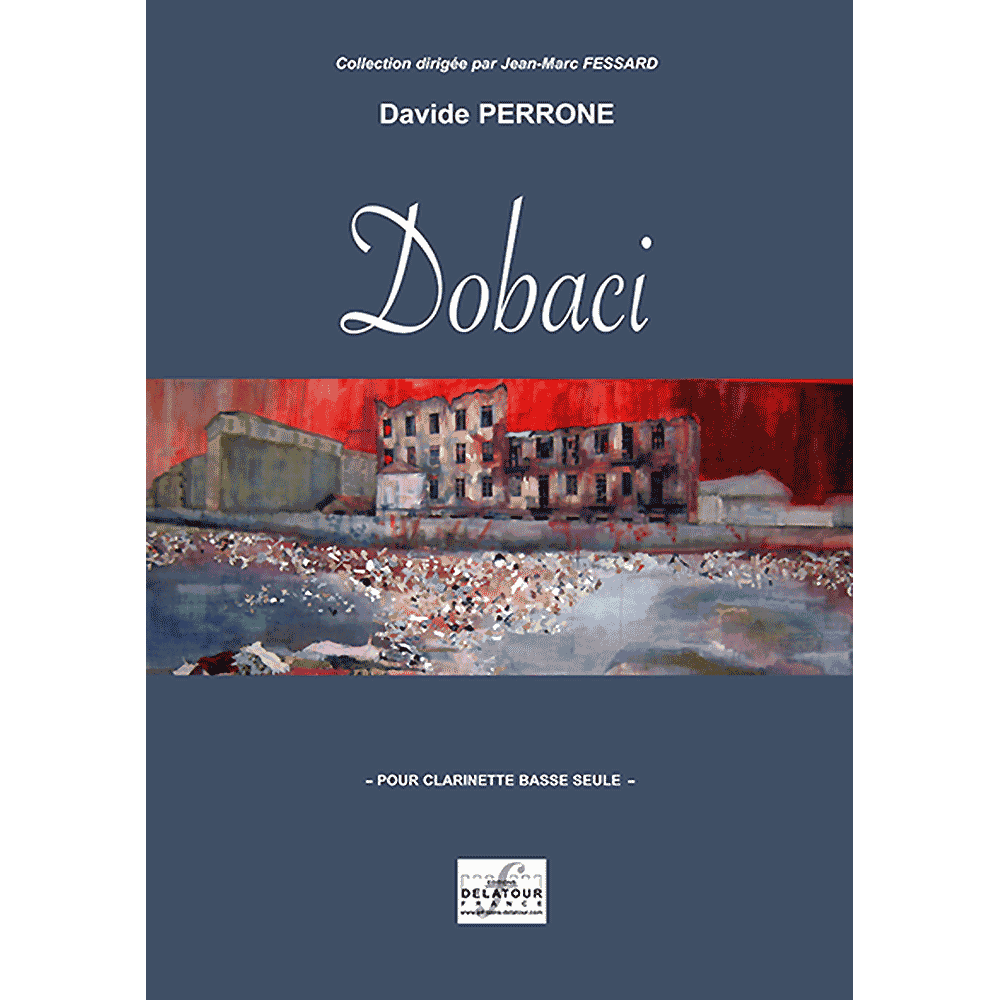 Dobaci for bass clarinet