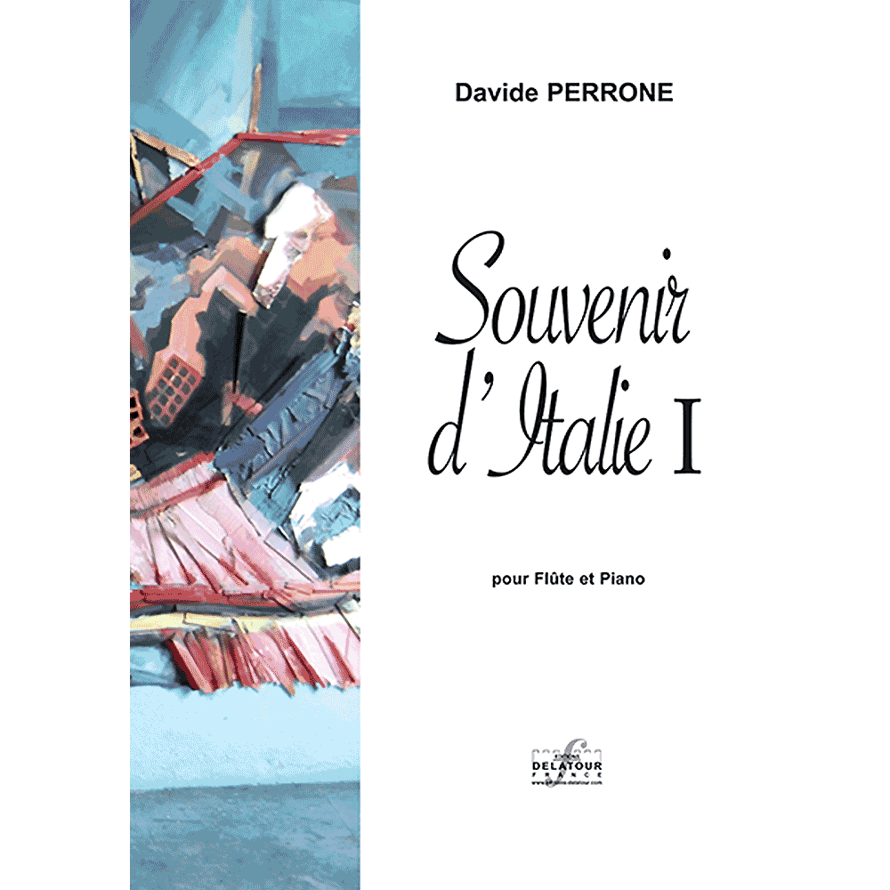 Souvenir d'Italie I for flute ad piano