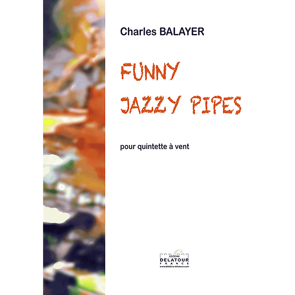 Funny jazzy pipes for wind quintet