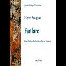 Fanfare pour flûte, clarinette, alto et basson