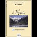 3 motets für Chor (Mit Audio-CD)