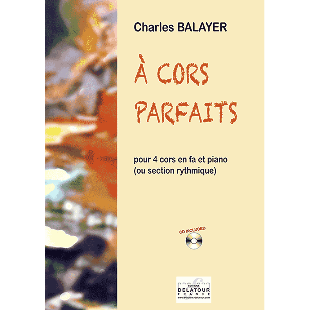 A cors parfaits for 4 french horns, piano and bass guitar