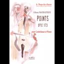 Points opus 173 pour contrebasse et piano