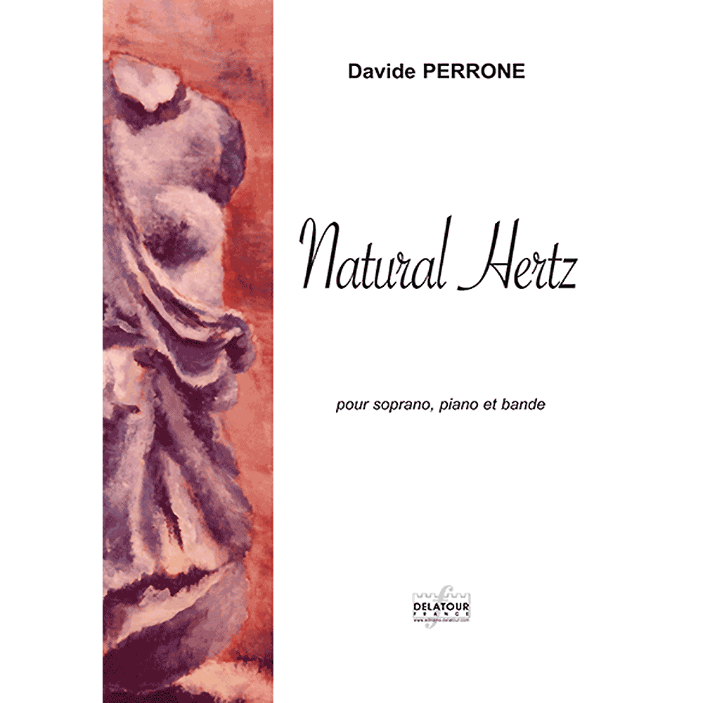 Natural hertz for soprano, piano and soudtrack
