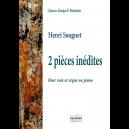 2 pièces inédites pour voix et orgue ou piano