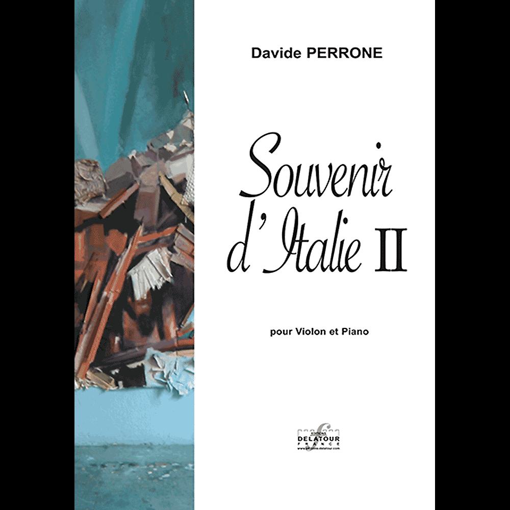 Souvenir d'Italie II für Violine und Klavier