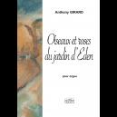 Oiseaux et roses du jardin d'Eden pour orgue