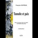 Tumulte et paix - Orchestre symphonique (Matériel d'orchestre)